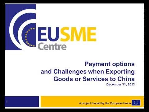 Payment Options and Challenges when Exporting your Goods or Services to China
