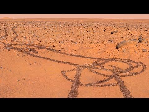 На Марсе заметили человека, ремонтирующего марсоход! Моржовые НОВОСТИ