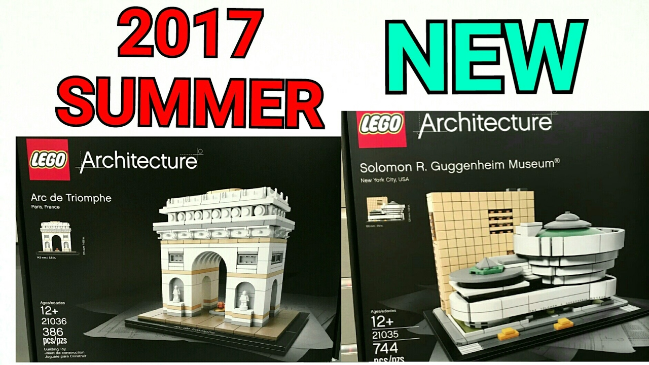 2017 lego architecture summer sets official pictures new for Architecture 2017