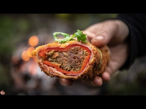 BEST BACON ROLLED FRIED PEPPERS - BUSHCRAFT FOOD