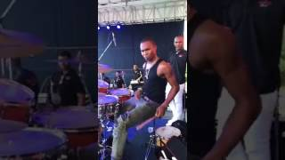Dash drums for boyzie performance at 10 to 10  2017