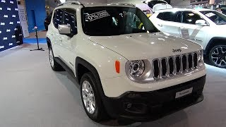 2018 Jeep Renegade Limited 2.0 MJII 4WD - Exterior and Interior - Auto Zürich Car Show 2017