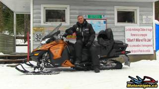 ski doo grand touring se 900 ace 2017 impressions essai long terme