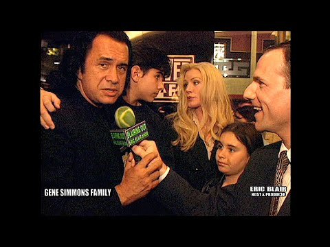 KISS Gene Simmons Family & Eric Blair @ The New Guy Premiere 2002