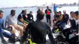 2013 project aware by aljazeera diving & swimming center