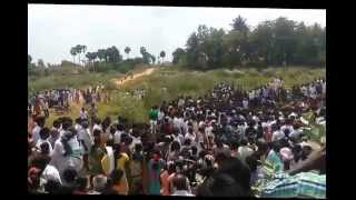 Thaipoosam  at thiruvidayaarpatti Vellar River 2015