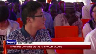 Download Video DIGITIZATION: Startimes launches digital TV in Hulumi village MP3 3GP MP4