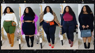 Cute + Comfy + Casual Styling Lookbook & Try-On Haul | Plus Size | Express