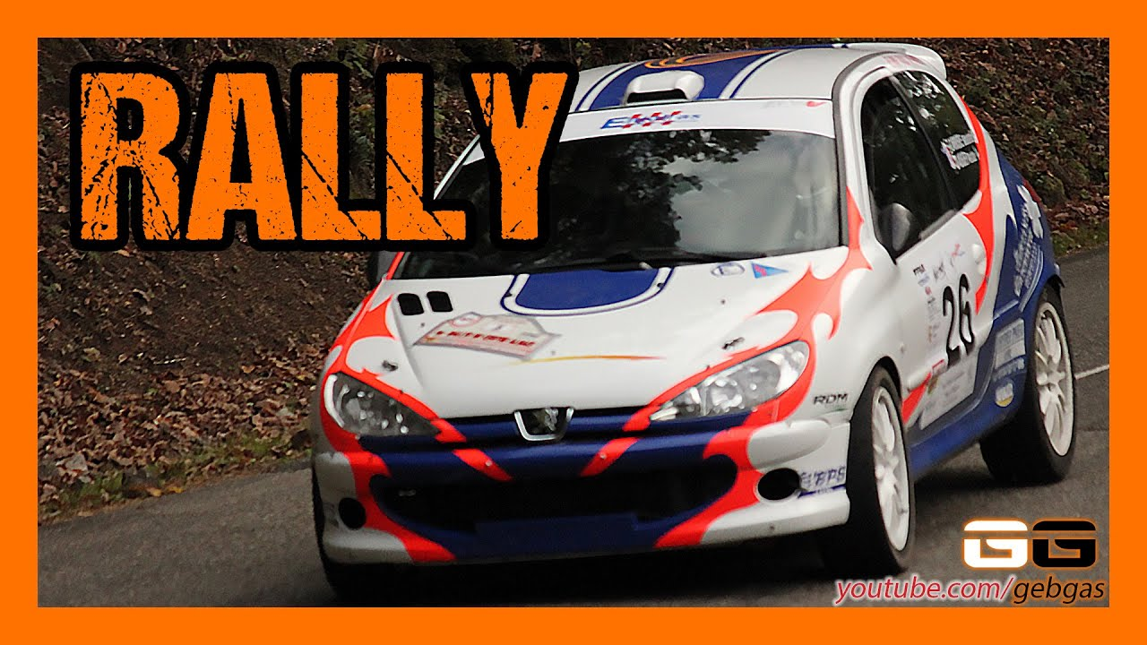 peugeot 206 rc s bastien carriere rally 2014 ried. Black Bedroom Furniture Sets. Home Design Ideas