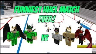 Roblox HHCL Funniest Match Ever! 3v2 HHCL Match W/NickTL1,Mats_Sundin13,Sonofzeues,Lev_iathan!