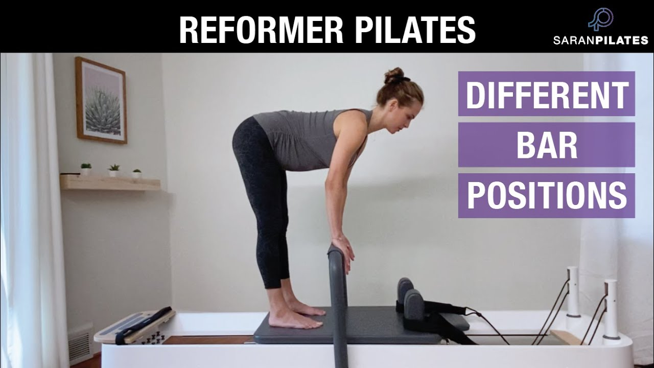 Exercises for Different Bar Positions on the Reformer