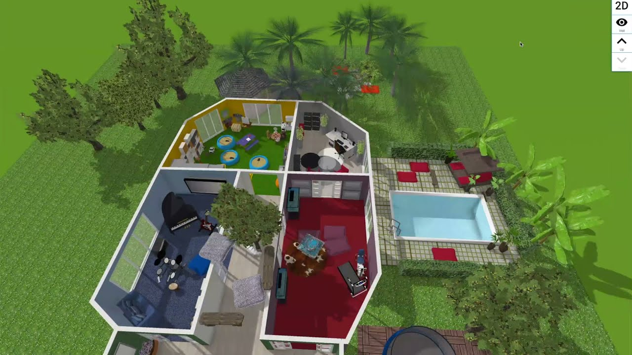 Lesley's 3D Virtual Play Space