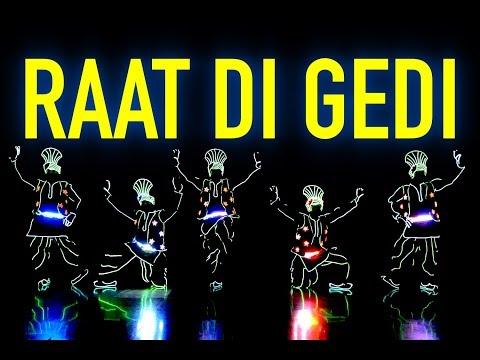Raat Di Gedi | Diljit Dosanjh | Tron Bhangra Dance by Skeleton Dance Crew
