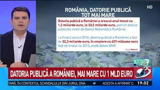 Vesti proaste de la BNR. Datoria publica a Romaniei, mai mare cu un miliard de euro