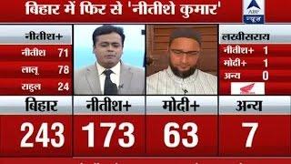 Bihar mandate personal defeat for Modi: Owaisi