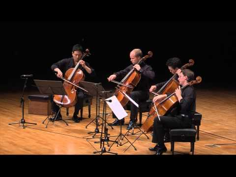 Barbers Adagio played  the 4Cellists in Seoul 2014