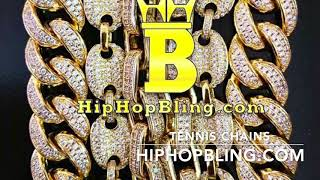 Get The Best Variety Of Hip Hop Tennis Chains Only At HipHopBling com