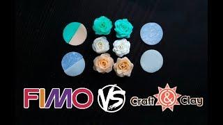[ ОБЗОР ] Fimo vs Craft&Clay | Обзор и сравнение полимерной глины | от WillStore