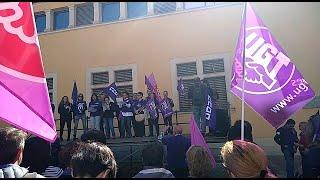 Manifestación en Palma convocada por UGT y CCOO por el Día de la Mujer