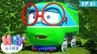 Trenulețele 🚂 Superstitie - Desene animate educative (ep. 61) | HeyKids
