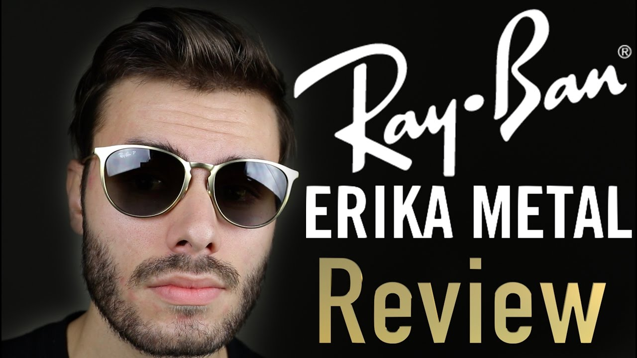 a028ed8fc6 Ray-Ban Erika Metal Review - YouTube