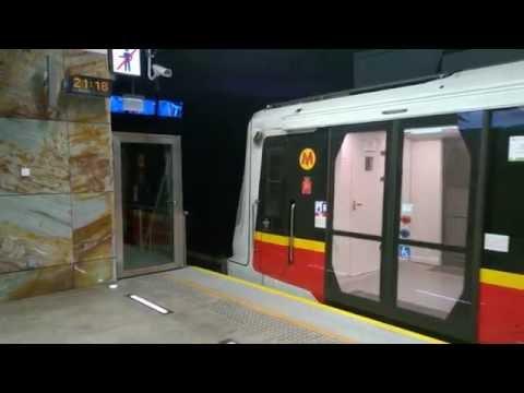 Metro Warszawskie - Siemens Inspiro - Rondo ONZ