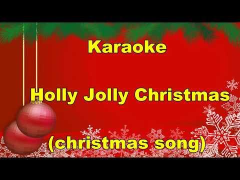 Karaoke -  Holly Jolly Christmas- Cash And Dave - LYRICS (CHRISTMAS SONG)