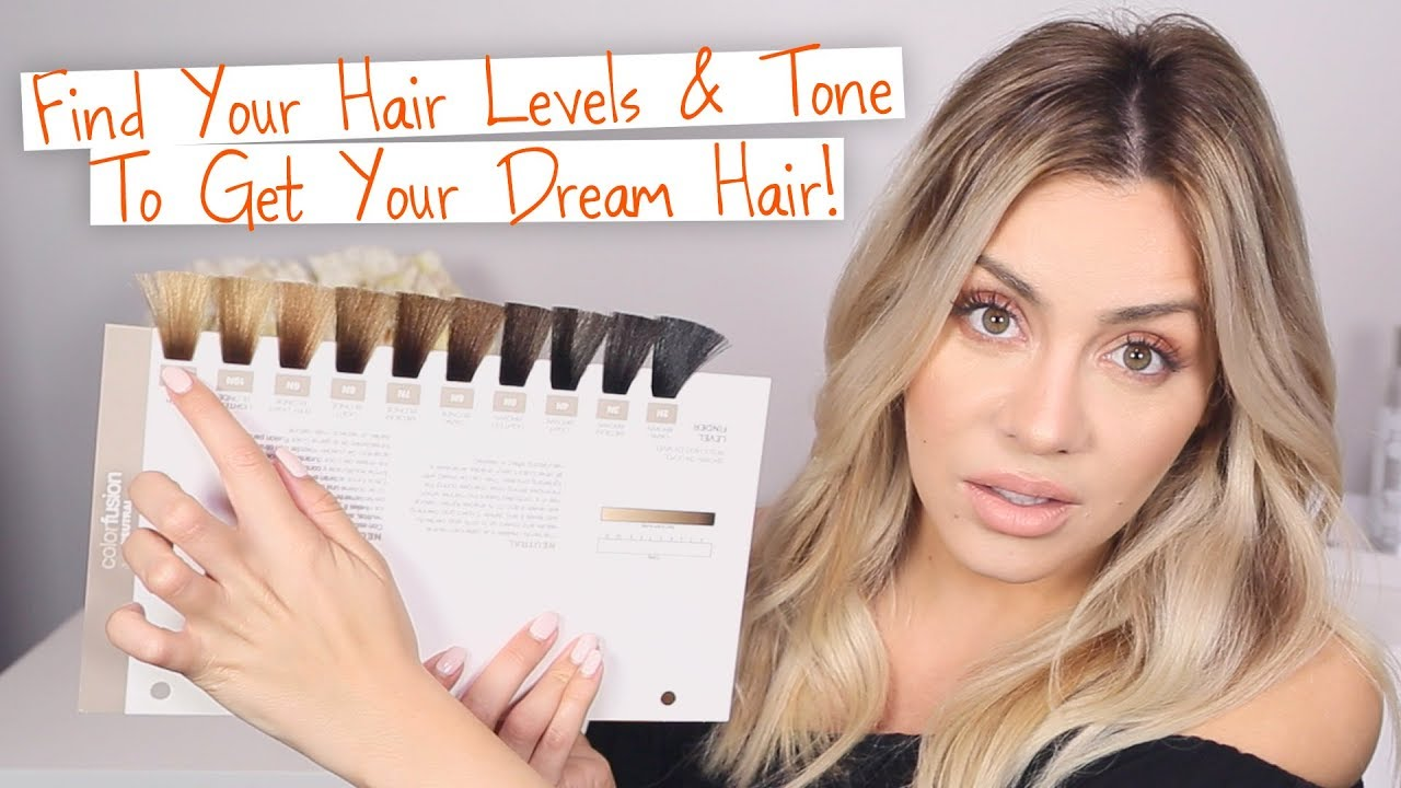 Find Your Hair Level Tone To Get Your Dream Hair Youtube