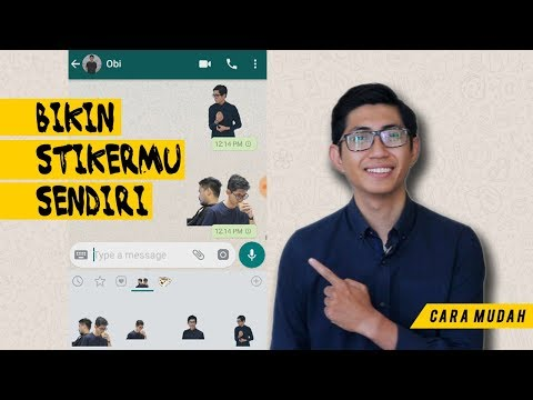 Cara Bikin Stiker Whatsapp Dengan Foto Kita Sendiri Pakai Aplikasi Gratis!.