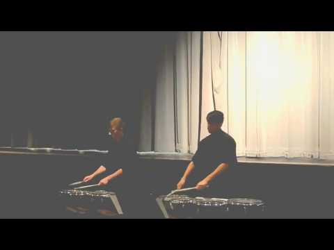 Brandon Wright & Cezanne Coca  It's Time (TCHS Percussion)