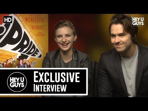 Faye Marsay & Ben Schnetzer Pride Exclusive Movie