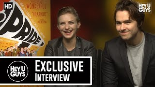 Faye Marsay & Ben Schnetzer Pride Exclusive Movie Interview