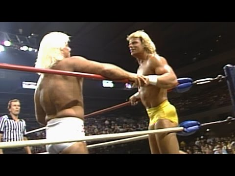 Ric Flair vs. Lex Luger - NWA World Heavyweight Title Match: The Great American Bash, on WWE Network thumbnail