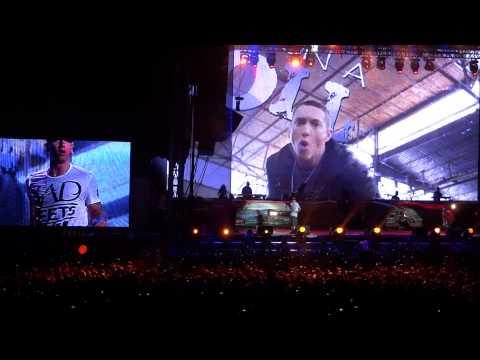 Eminem Fast Lane Live Montreal Osheaga 2011
