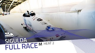 Sigulda | BMW IBSF World Cup 2020/2021 - 2-Man Bobsleigh Race 1 (Heat 2) | IBSF Official