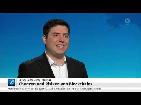 Lennart Ante zur Blockchain-Technologie in der Tagesschau