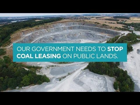 Stop Coal Leasing on Public Lands