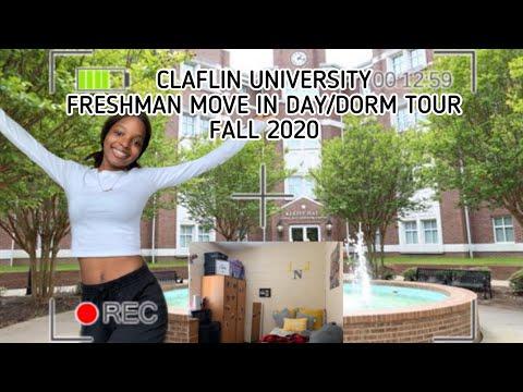Claflin University Freshman Move In Day/ Dorm Tour 2020