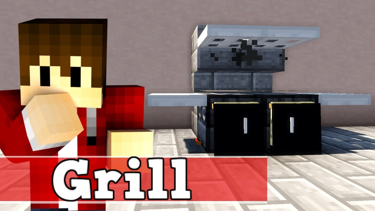 minecraft wie baut man einen funktionierenden grill. Black Bedroom Furniture Sets. Home Design Ideas