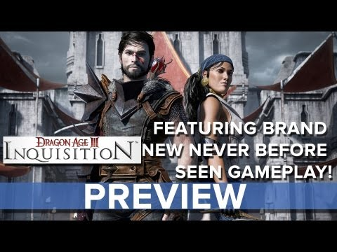 Dragon Age: Inquisition - Preview with Brand New Gameplay - Eurogamer