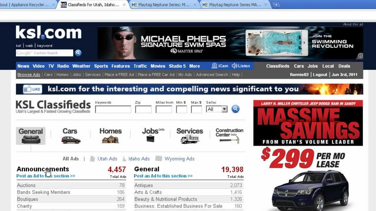 Trading Up - How to Place a classified ad on KSL.com another ...