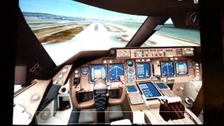 Aerofly 2 Boeing 747-400 Cockpit Landing Tutorial in KSFO- 28R -