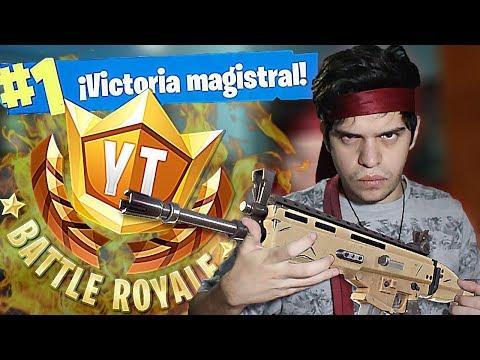 MIS PARTIDAS EN EL TORNEO DEL RUBIUS! #YTBattleRoyale