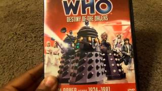 Doctor Who Monsters Collection Daleks DVD Review
