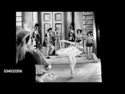 Margot Fonteyn In Vic-Sadler's Wells ballet first production of The Sleeping Beauty 1939