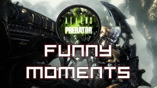 """Aliens vs. Predator (Funny Moments)...""""..a long periodically time!"""""""