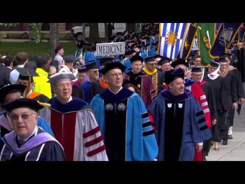 2017 Case Western Reserve University Commencement Convocation Ceremony
