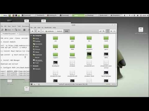Install React Native On Ubuntu /  Linux Mint FULL Part 1 (2)