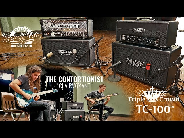 "Tone Sessions: The Contortionist – TC-100 & Dual Recto – ""Clairvoyant"""