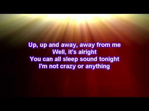 Nicholas McDonald  - Superman (Lyrics)